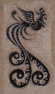 phoenix tattoo by blackats