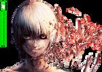 Kaneki Ken (Tokyo Ghoul) - Render