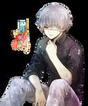 Ken Kaneki (Tokyo Ghoul) - Render
