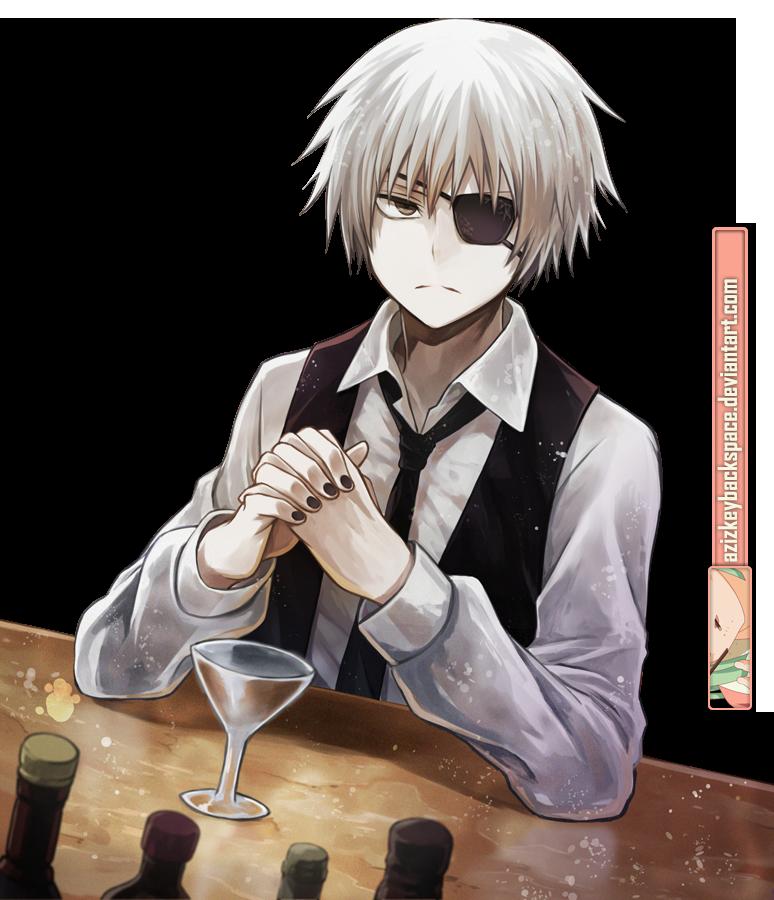 [74]  Tokyo Ghoul    Renders  Kaneki_ken__tokyo_ghoul____render_by_azizkeybackspace-d83vr4p