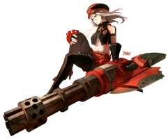 Alisa Illinichina Amiella (God Eater) - Render v2