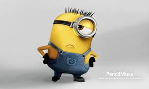 PencilMuseYoutube Minion