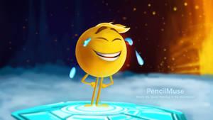 DAILY Speed Painting - Emoji Movie Gene!