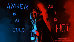 Mood Painting | Anger - Cold Hot | 6 Minutes