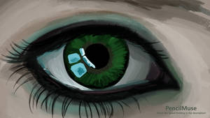 Mood Painting | Jealousy | Eye