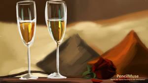 Mood Painting | Romance | Glasses