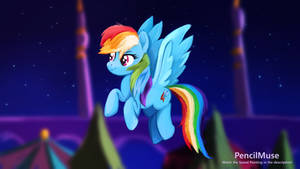 DAILY Speed Painting - My Little Pony Rainbow Dash