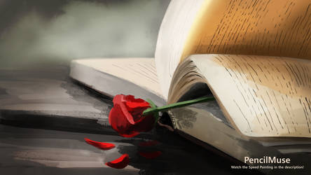 Mood Painting | Romance | Rose Book