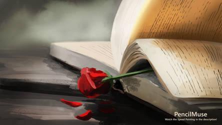 Mood Painting | Romance | Rose Book