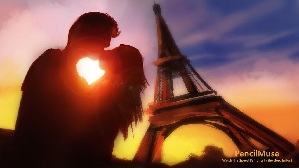 Mood Painting   Romance   Paris