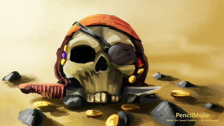 A Mysterious Skull...