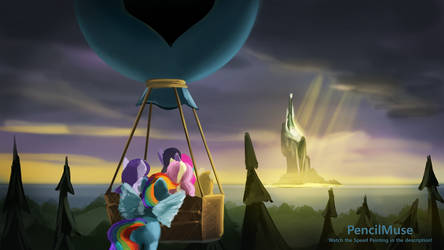 DAILY Speed Painting - My Little Pony Air Balloon
