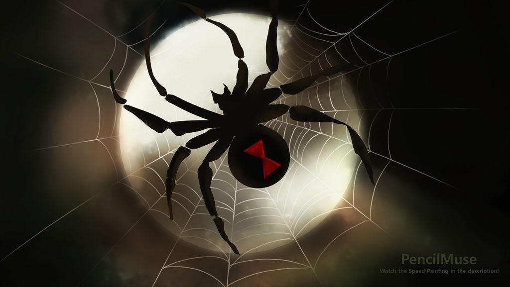 Daily Speed Painting | Spooky Halloween Spider!