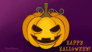 Halloween Draw Along | How To Draw A Pumpkin!