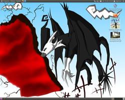 Desktop- Shinigami by Meanira