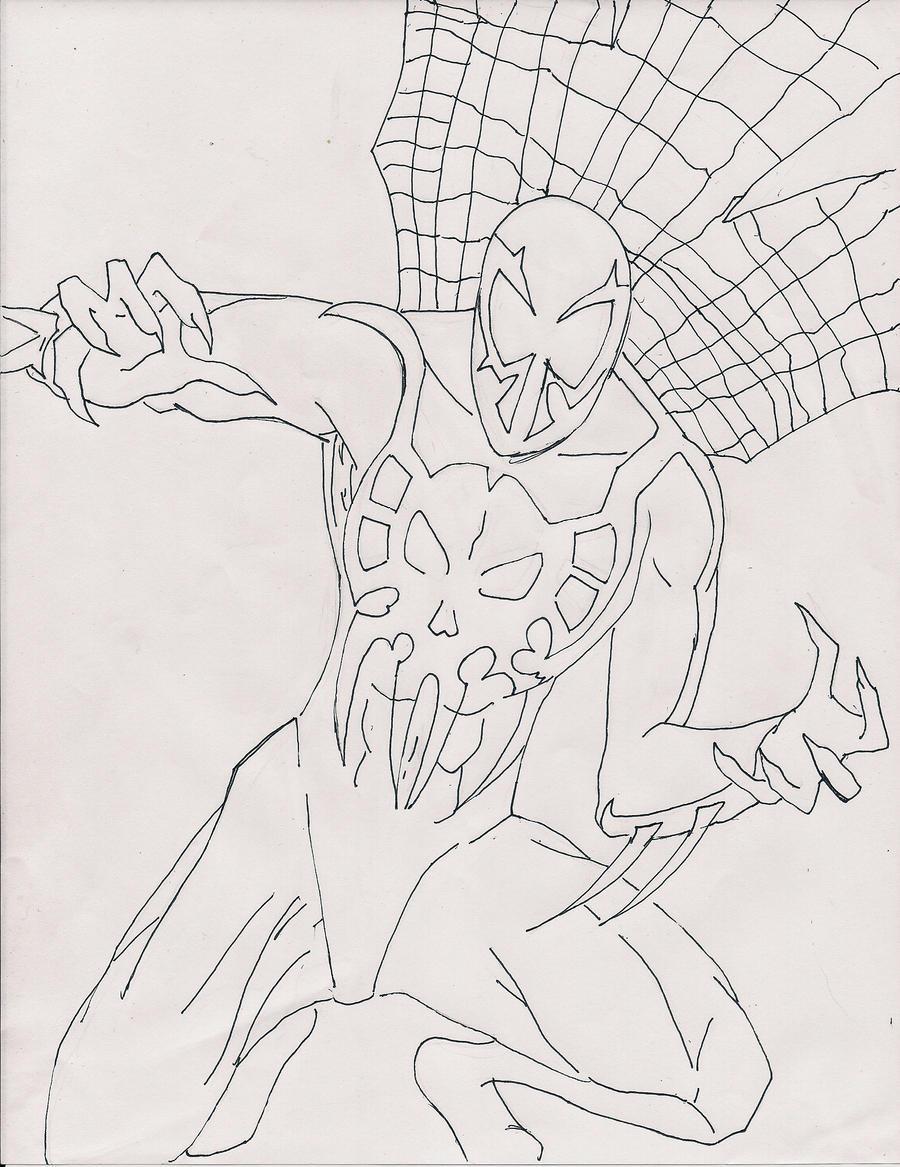 Spiderman 2099 AD by Kingchaos101 on DeviantArt