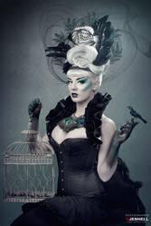 Dark Peacock Queen