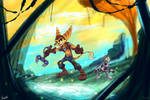 Ratchet and Clank by emipello
