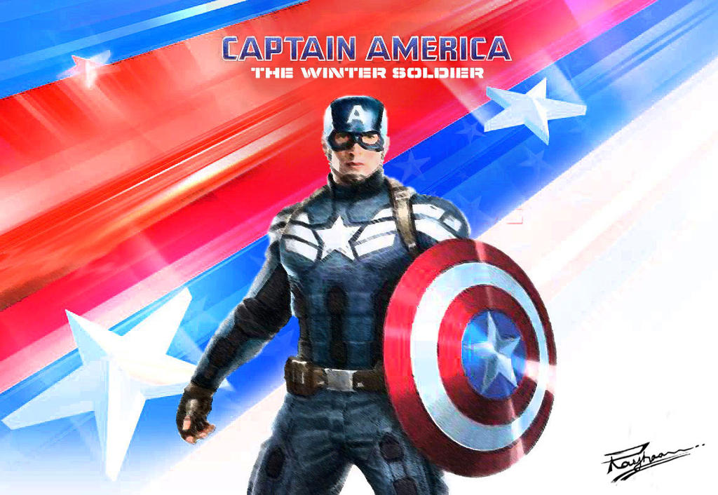 Captain America Winter Soldier By Squeegool Deviantart – Dibujos
