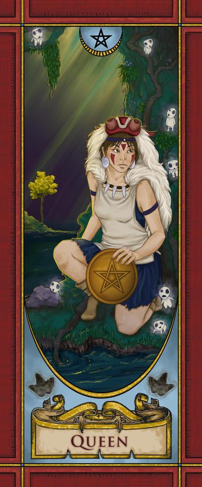 Queen of Pentacles by kyriadalyn