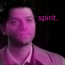 Purple Castiel (NEW ICON!) by Flying-With-The-Owls