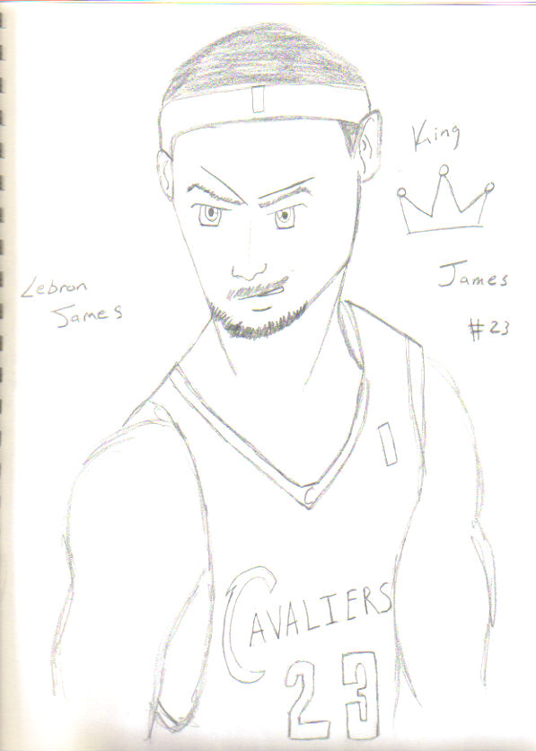 Lebron James by EmranIsDead