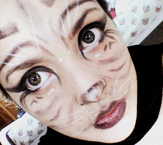 White Tiger Eye Makeup - Mugeek Vidalondon