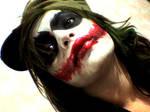 Gore scar Joker girl