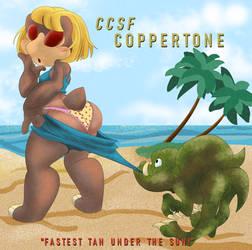 CCSF2020 Coppertone Ad Parody