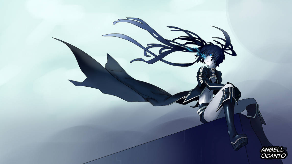 Black Rock Shooter by CR34T-Cat