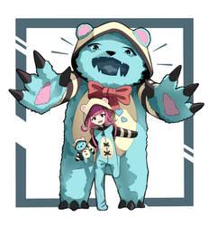 [FanArt] |League of legends | Annie Cutie Bear