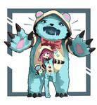 [FanArt]  League of legends   Annie Cutie Bear