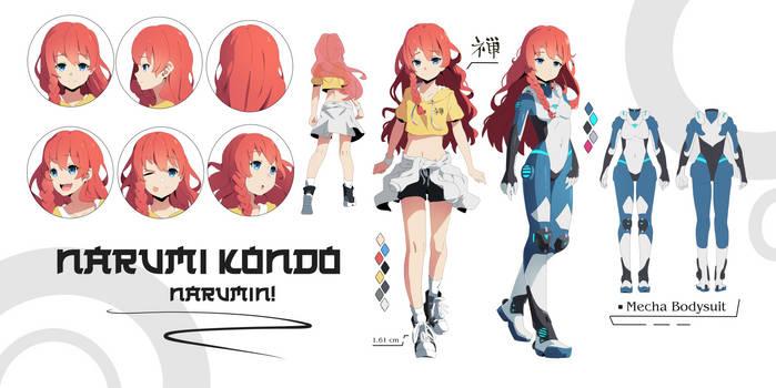 [Comm] | Narumi Kondo ! C.D + F.Body
