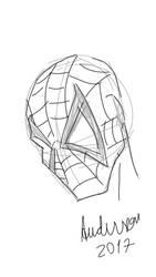 Spiderman - Quick sketch by paulocastelo