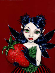 Strawberry Fairy by linranae