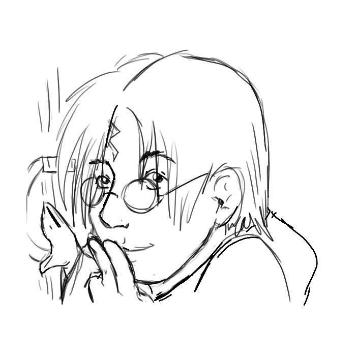 Potter Shh by spottedhyenae