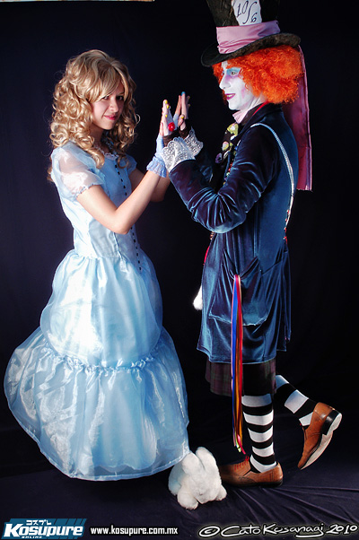 Alice and Mad Hatter Ver2 by VegetaMar