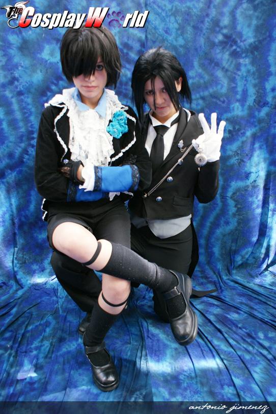 cosplay Sebastian and ciel