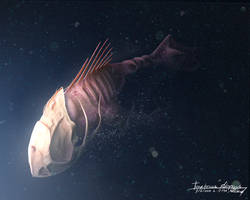 Tebby Fish 'Tenebrosa Abyssus' by Filtered-Suliva