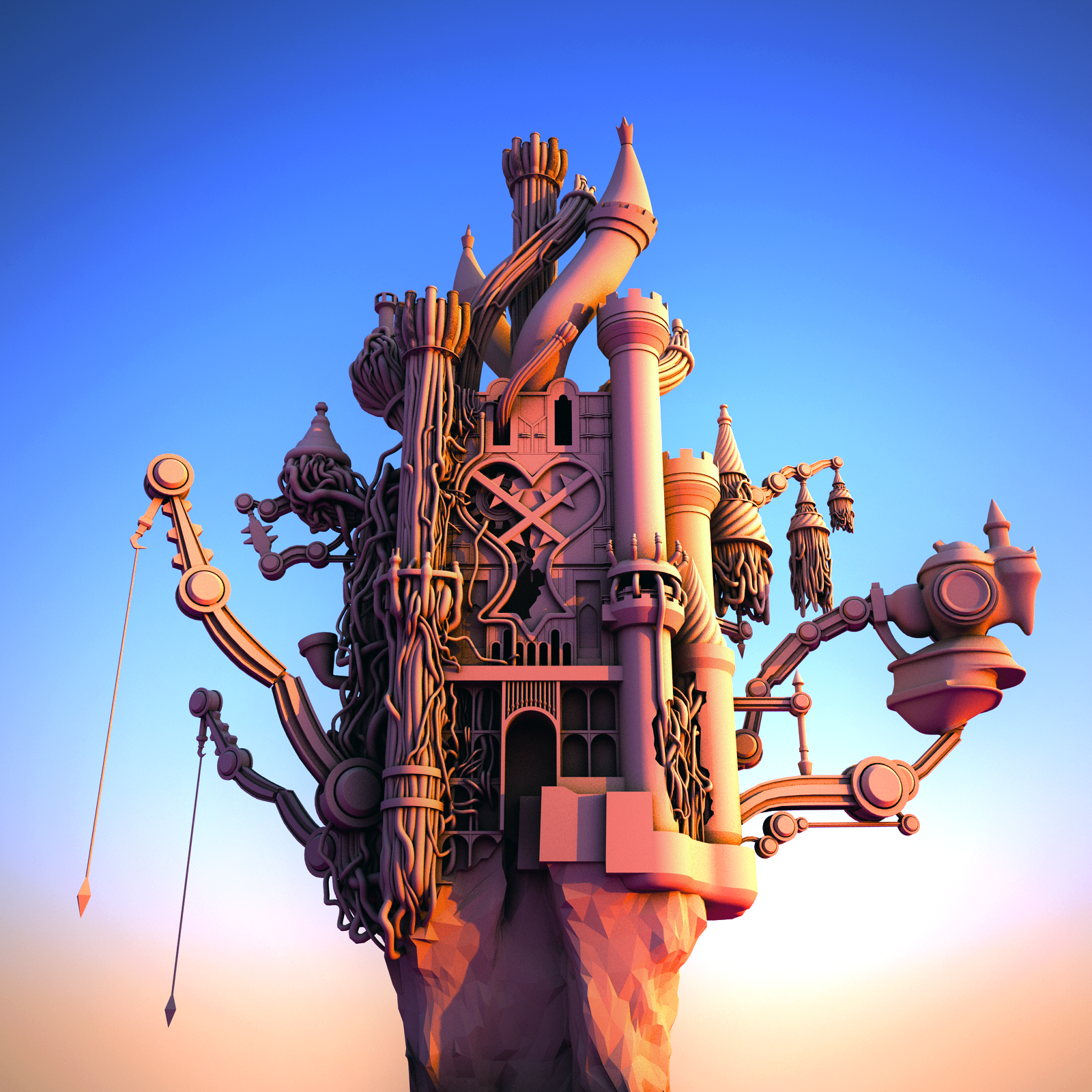 3D Hollow Bastion by Filtered-Suliva