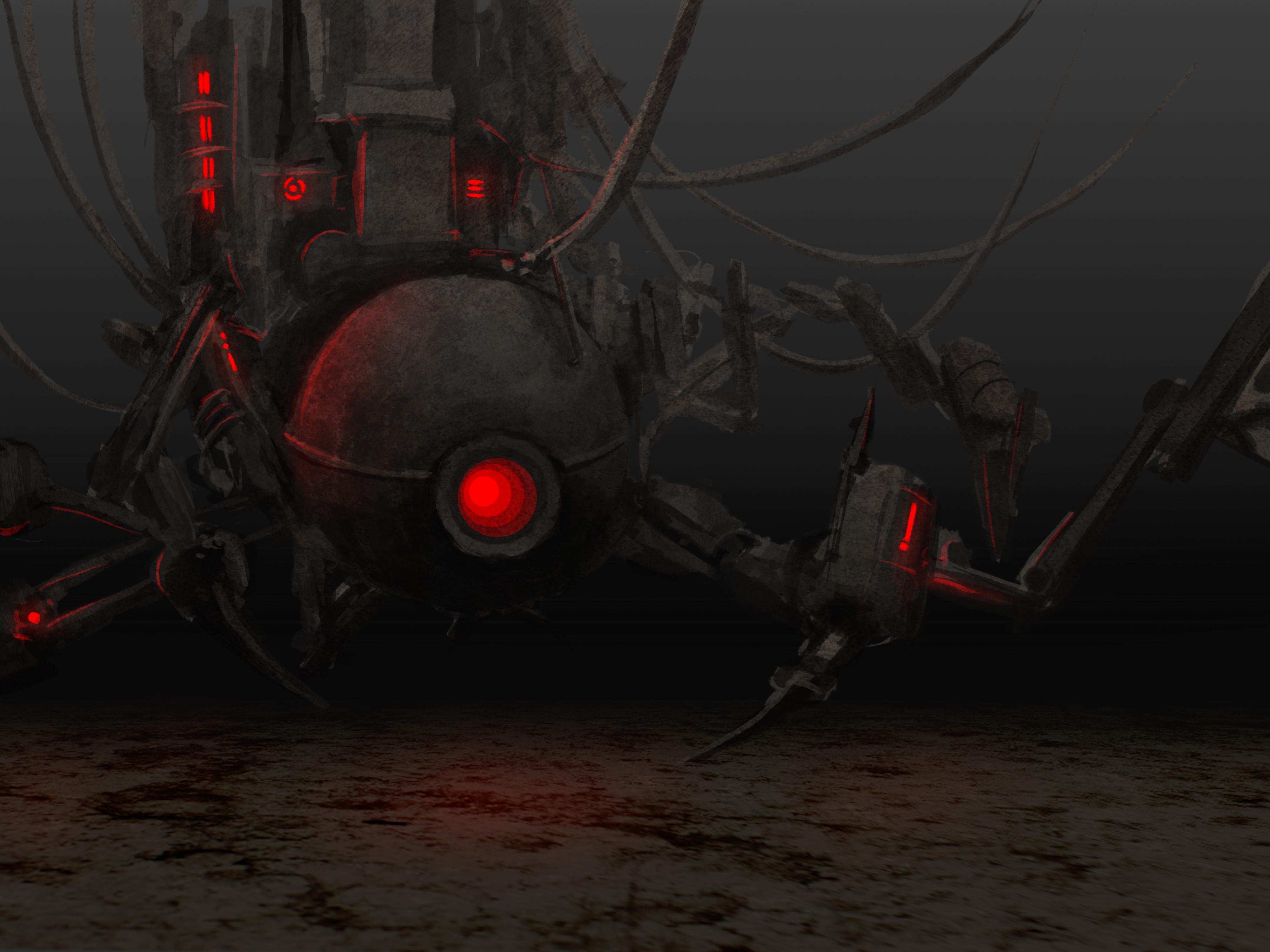 evil machine