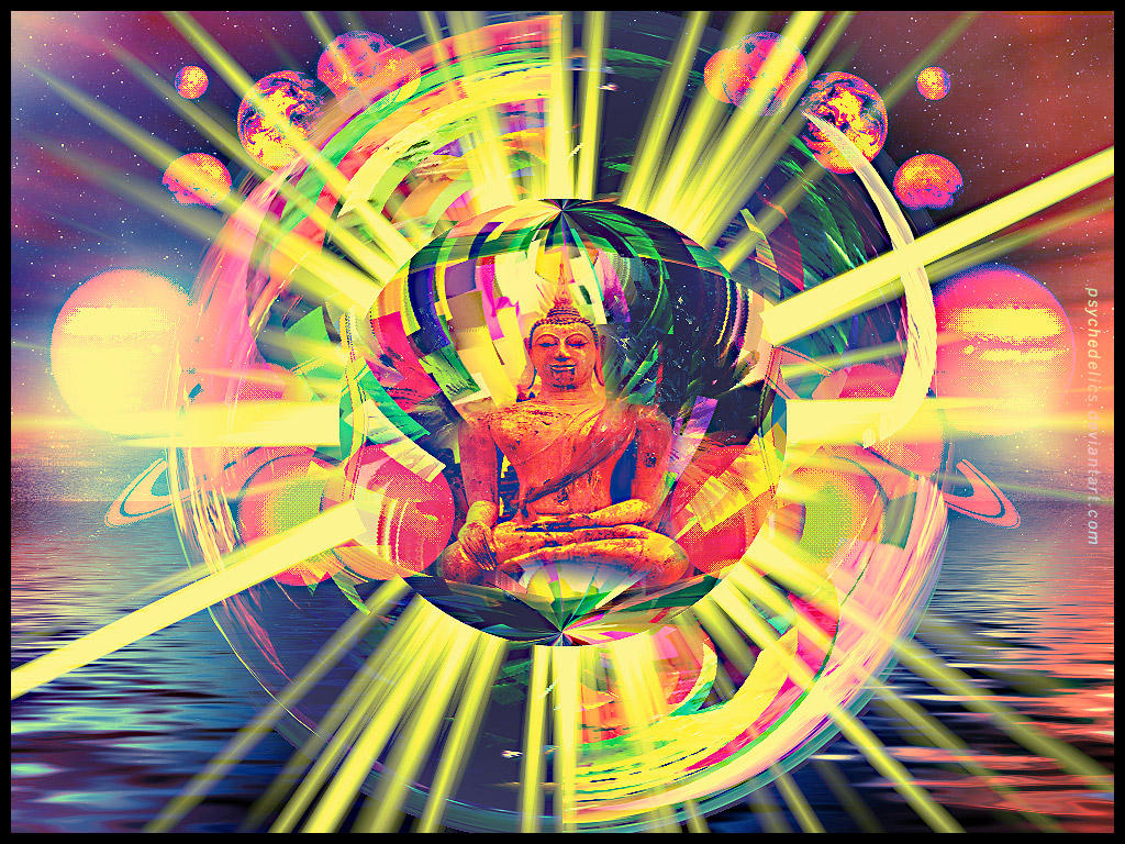 ElectriK Magic Buddha by psychedelics on DeviantArt
