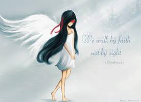 We Walk by Faith by Kitimisu