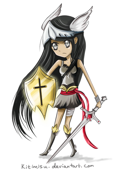 Little Warrior by Kitimisu