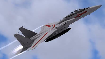 VF-1J Vermillion Leader for F-15C