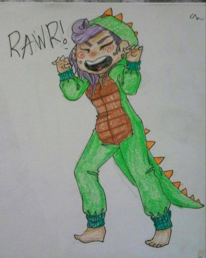 RAWR! by Chibi-Bits