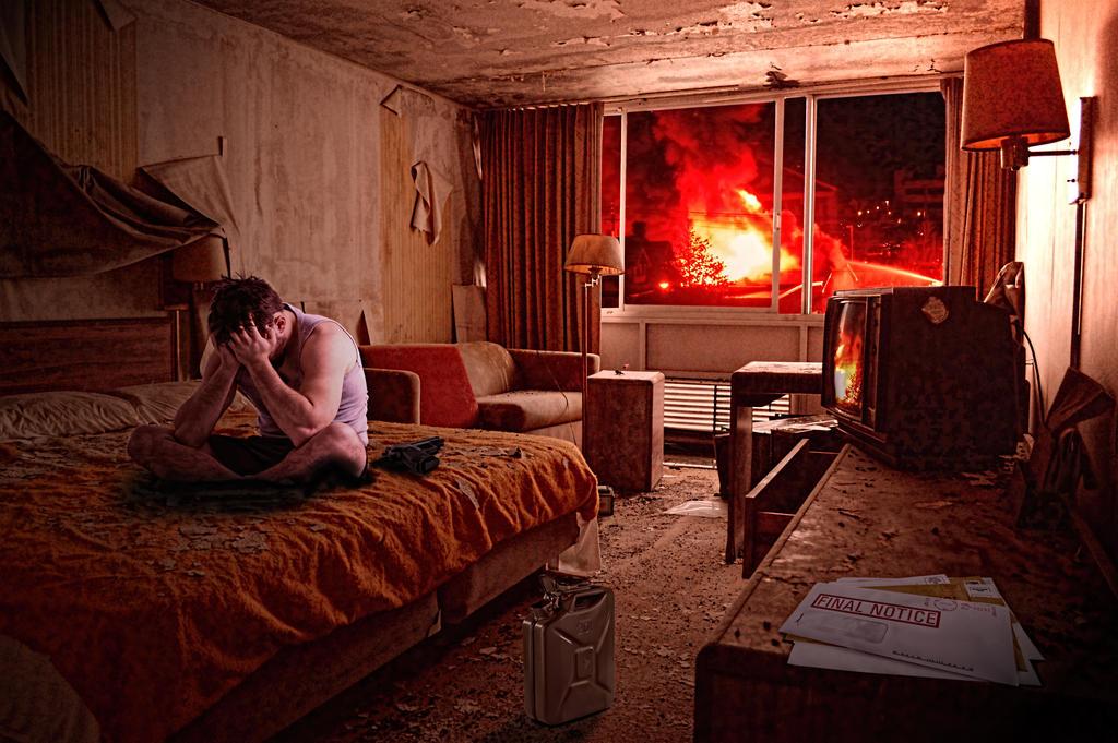 The Burning Man by fiolagan