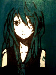 Miku Hatsune by xXOnlyAubsiiXx