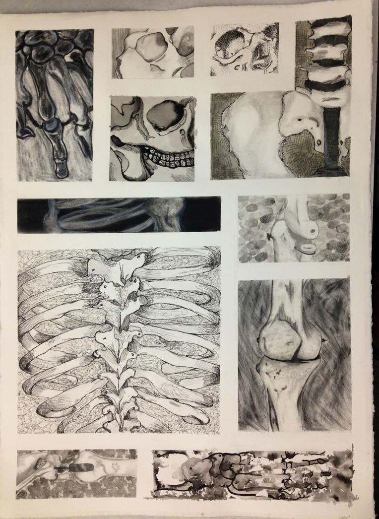 Skeleton Pieces by xXOnlyAubsiiXx