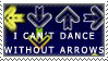 CantDanceWithoutArrowsStamp by GriffSGirl